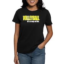 Volleyball Way of Life Tee