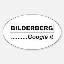 Google Bilderberg Oval Decal