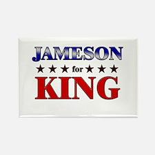 JAMESON for king Rectangle Magnet