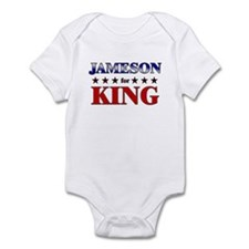 JAMESON for king Infant Bodysuit