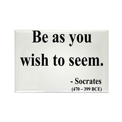 Socrates 5 Rectangle Magnet (10 pack)