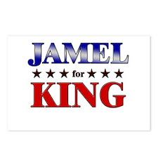 JAMEL for king Postcards (Package of 8)