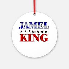 JAMEL for king Ornament (Round)