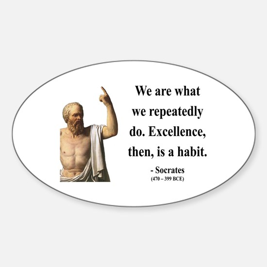 Socrates 6 Oval Decal
