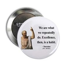 """Socrates 6 2.25"""" Button (100 pack)"""