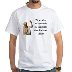 Socrates 6 White T-Shirt