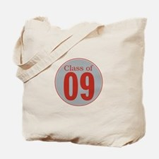 class of '09 (red and grey) Tote Bag