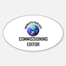 World's Coolest COMMISSIONING EDITOR Decal