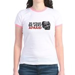 Be Afraid of Obama Jr. Ringer T-Shirt
