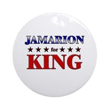 JAMARION for king Ornament (Round)