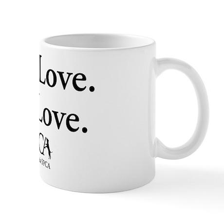 """Give Love. Get Love."" Mug"