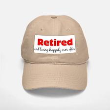 Retirement Baseball Baseball Cap