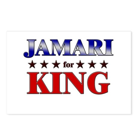 JAMARI for king Postcards (Package of 8)