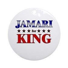 JAMARI for king Ornament (Round)