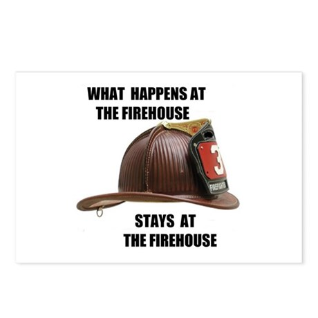 FIREHOUSE Postcards (Package of 8)