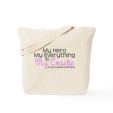 My Everything Coastie Girlfri Tote Bag