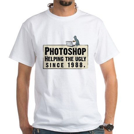 Photoshop - Helping the Ugly White T-Shirt