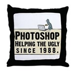 Photoshop - Helping the Ugly Throw Pillow