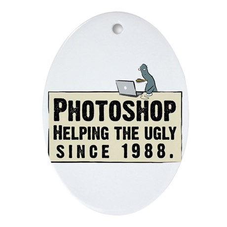 Photoshop - Helping the Ugly Oval Ornament