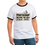 Photoshop - Helping the Ugly Ringer T