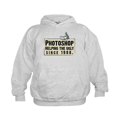 Photoshop - Helping the Ugly Kids Hoodie