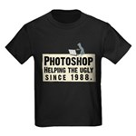 Photoshop - Helping the Ugly Kids Dark T-Shirt