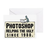 Photoshop - Helping the Ugly Greeting Card