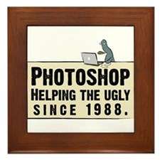 Photoshop - Helping the Ugly Framed Tile