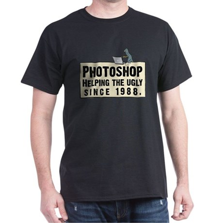 Photoshop - Helping the Ugly Dark T-Shirt