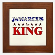 JAMARCUS for king Framed Tile