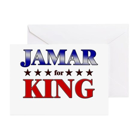 JAMAR for king Greeting Cards (Pk of 10)