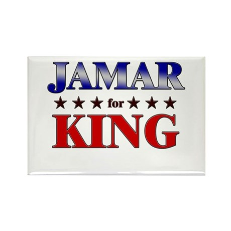 JAMAR for king Rectangle Magnet
