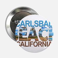 "Summer carlsbad state- california 2.25"" Button"