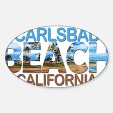 Summer carlsbad state- california Decal