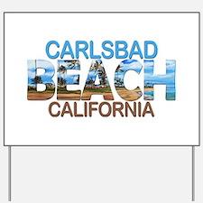 Summer carlsbad state- california Yard Sign