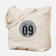 class of '09 (black and grey) Tote Bag