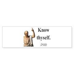 Socrates 8 Bumper Bumper Sticker