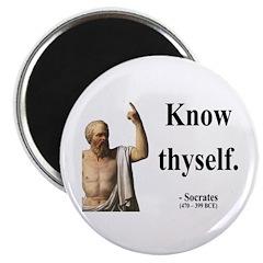 "Socrates 8 2.25"" Magnet (100 pack)"