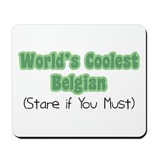 World's Coolest Belgian Mousepad
