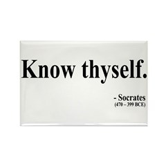 Socrates 8 Rectangle Magnet (100 pack)