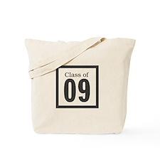 class of '09 (black) Tote Bag
