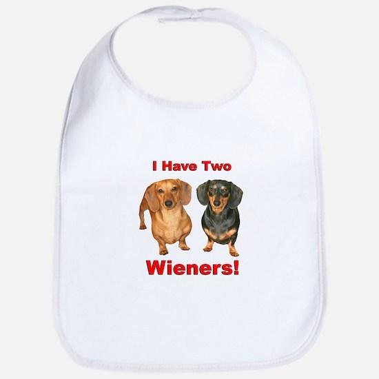 Two Wieners Bib