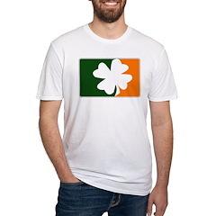 Major League Irish (orange) Fitted T-Shirt
