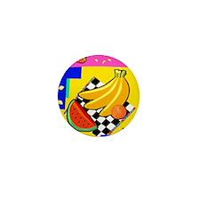 BANANA, WATERMELON & ORANGE Mini Button