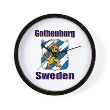 Gothenburg Sweden Wall Clock