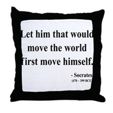 Socrates 9 Throw Pillow
