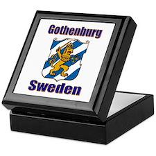 Gothenburg Sweden Keepsake Box