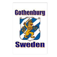 Gothenburg Sweden Postcards (Package of 8)