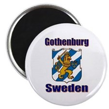 Gothenburg Sweden Magnet