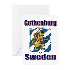 Gothenburg Sweden Greeting Cards (Pk of 10)